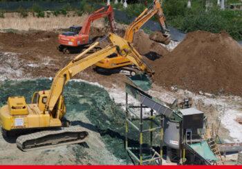 Rehabilitation of contaminated sites home